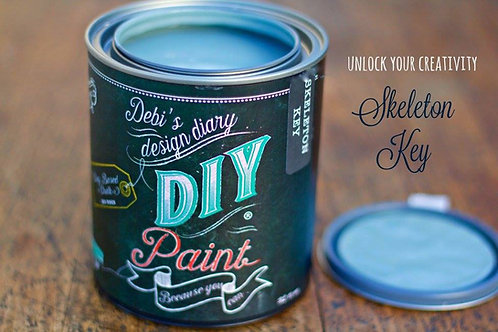 Debi's Design Diary DIY Paint -Skeleton Key