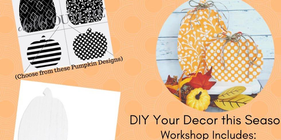 Pumpkin Cutout Workshop