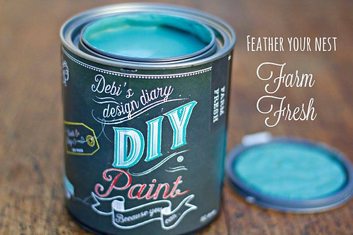 Debi's Design Diary DIY Paint - Farm Fresh