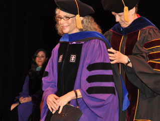 Dr. Peltz was awarded a doctorate in Higher Education