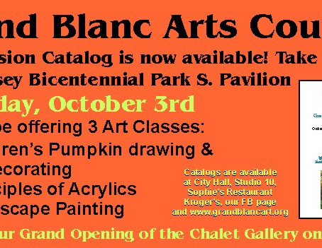 Art Classes: Saturday October, 3rd! Bicentennial Park
