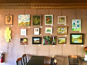 GRAND BLANC ARTS COUNCIL MEMBER SHOW- Cranberries' Café