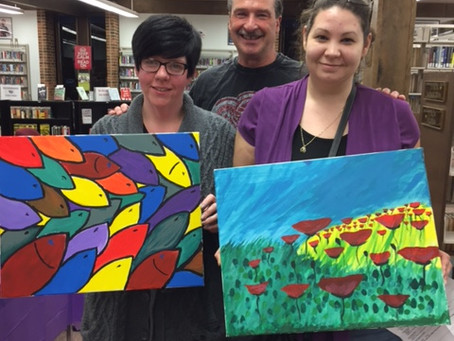 GBAC Painting Party- November 28th
