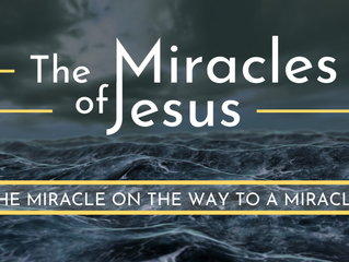 The Miracle on the Way to a Miracle