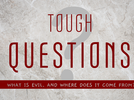 What Is Evil, and Where Does It Come From?