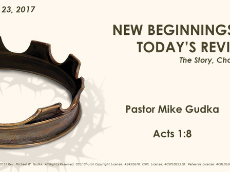 New Beginnings to Today's Revival