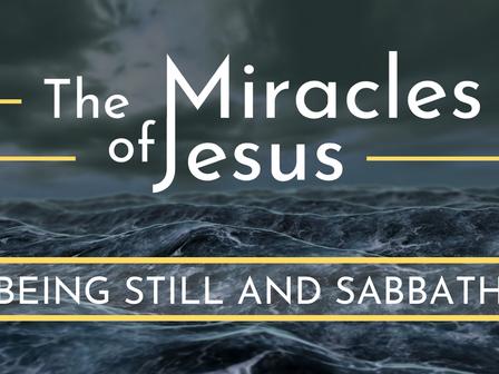 Being Still and Sabbath