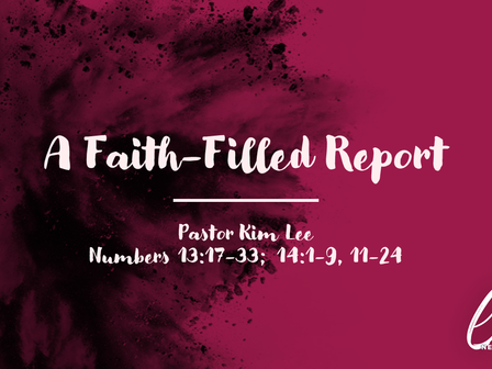 A Faith-Filled Report