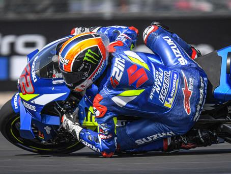 MotoGP Grã-Bretanha -  Alex Rins e Suzuki selam vitória