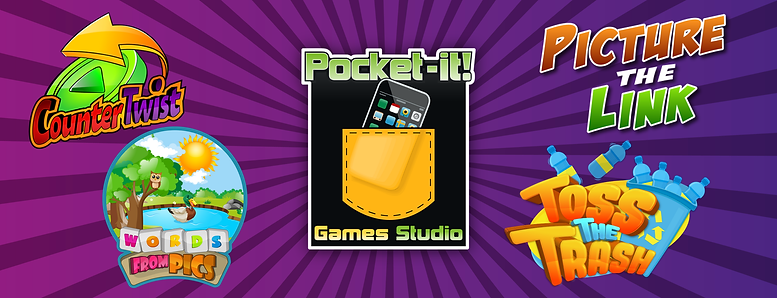 Pocket-it! games collage