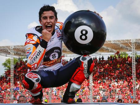 MotoGP Tailândia - MM oito vezes campeão do mundo !