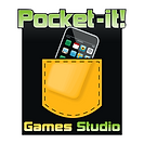 Pocket-it! bw logo