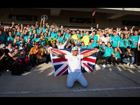 Formula 1 USA - Austin coroa o sexto título do inglês Lewis Hamilton
