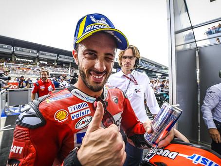 MotoGP Áustria - Dovizioso vence no melhor estilo última curva