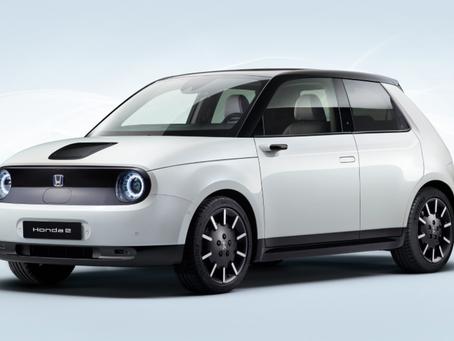 Honda e - o 100% elétrico que deseja ser popular