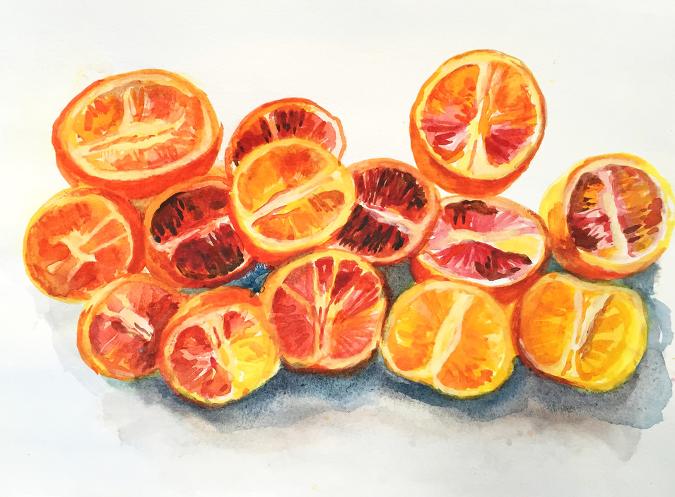* SOLD * Blood Oranges