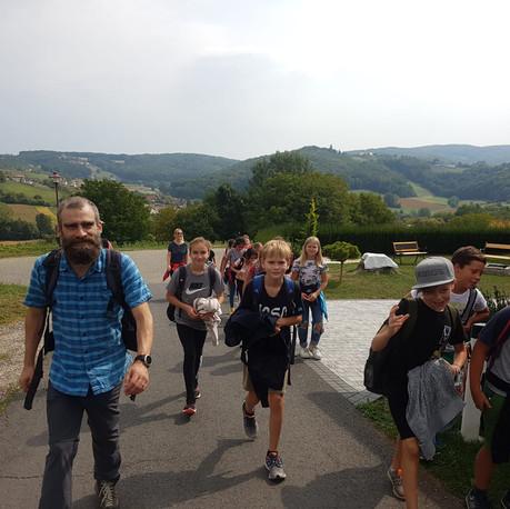 Wandertag der ersten Klassen