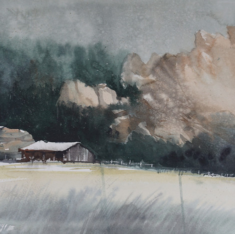 This Old Shed @ Sandstone Ranch, 9x12