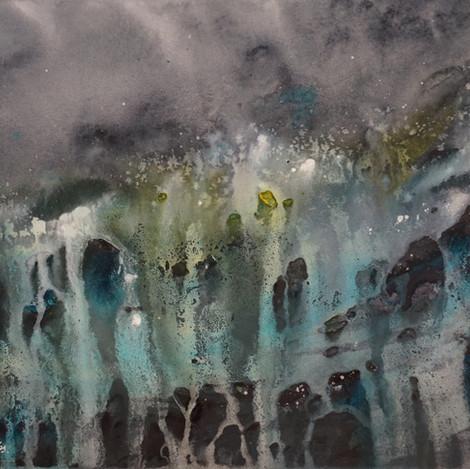 Waterfall, 11x14