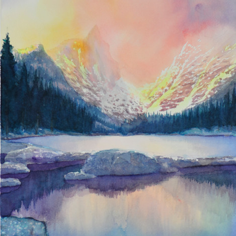 Colorado Landscape 6, 14x10