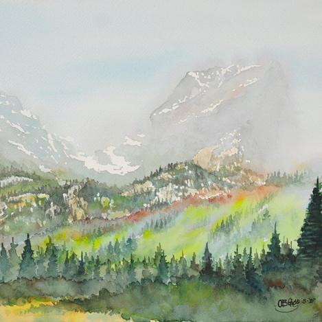 Colorado landscape 2, 10x14