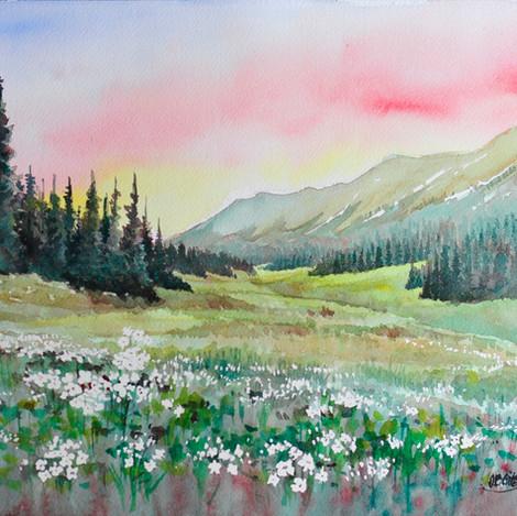 Colorado Landscape 5, 10x14