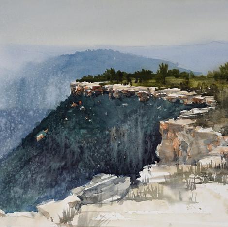 Cliff's Edge @ JA Ranch, 11x14