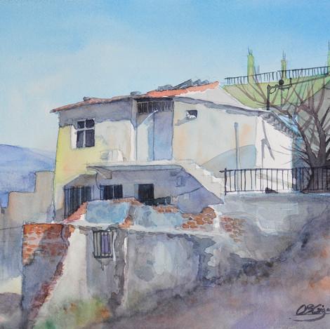 A house in Kadifekale, 10x14