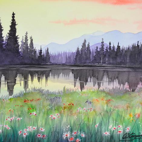 Colorado Landscape 3, 10x14