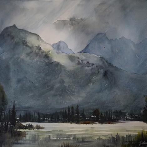 Teton Valley, 15x22