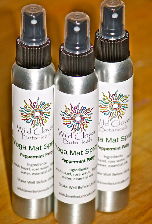 Yoga Mat Spray - Peppermint Patty