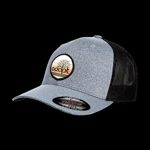 Adapt Tree Hat - Grey/Black - FlexFit