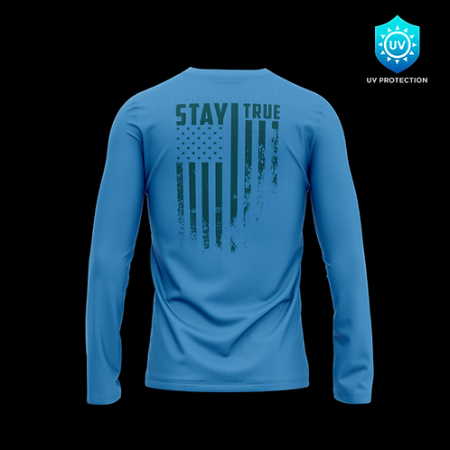 Stay True Long Sleeve - Blue