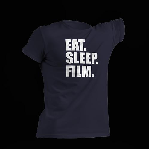 Eat. Sleep. Film - Navy Blue