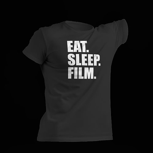 Eat. Sleep. Film - Black