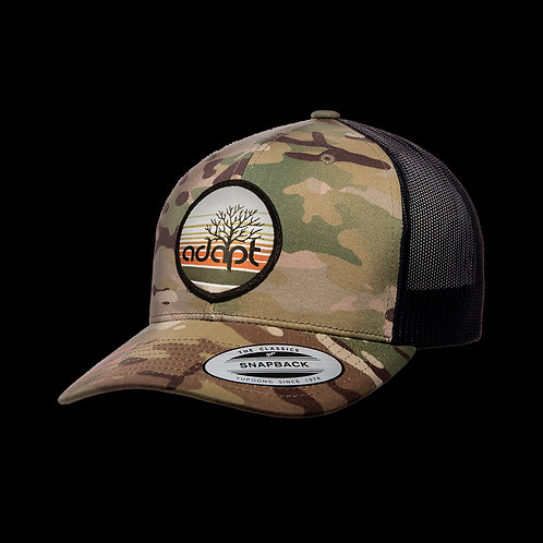 Adapt Tree Hat - Camo - Snapback