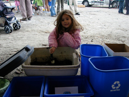 Compost, recycle like there's something at stake