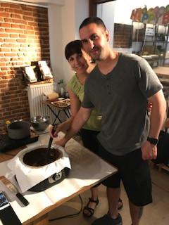 Chocolate Making Lessons in Belgium