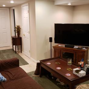 TV room (Joe's favorite room during football season)