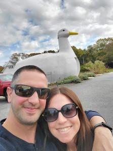 Selfie with The Big Duck.
