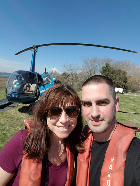 Helicopter Ride in South Carolina