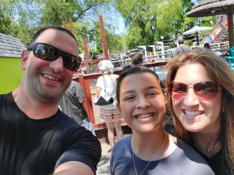 Adventureland selfie.