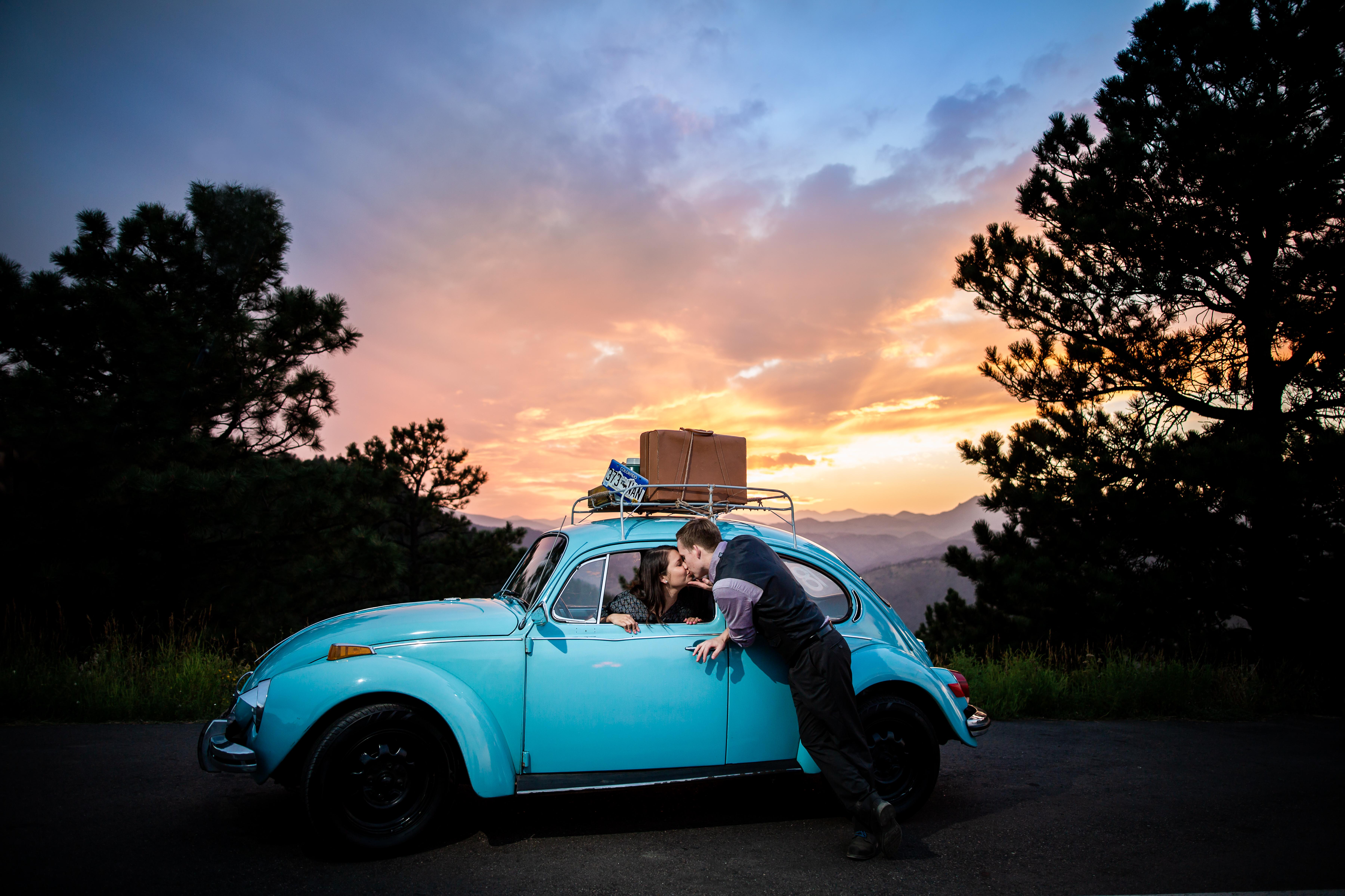 Volkswagen Beetle Engagement Colorad