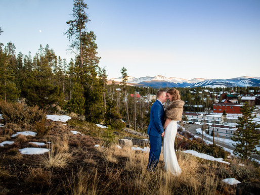 Kristen and Shannon's Winter Elopement in Winter Park - Colorado Mountain Wedding Photography