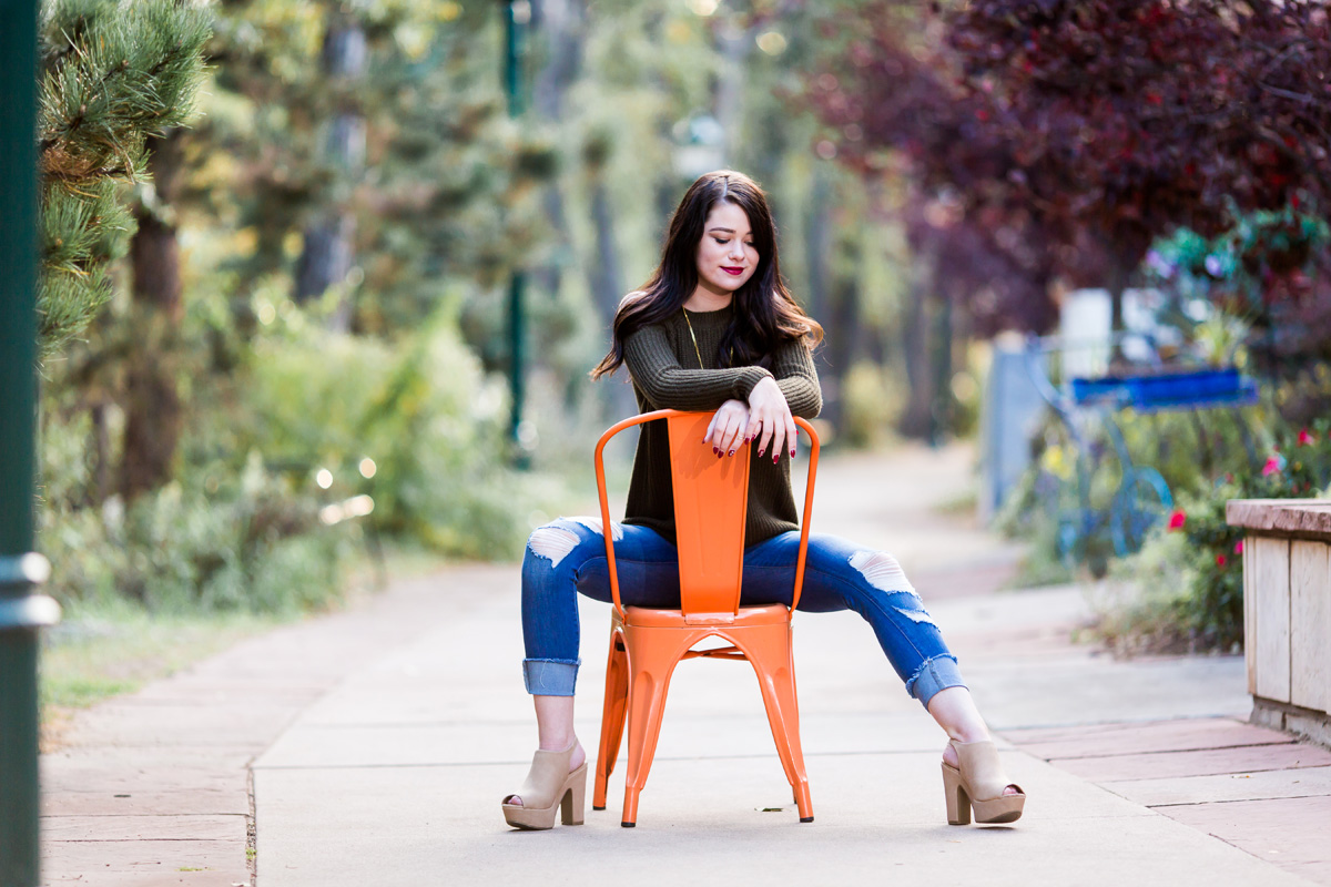 Estes Park Senior Photography