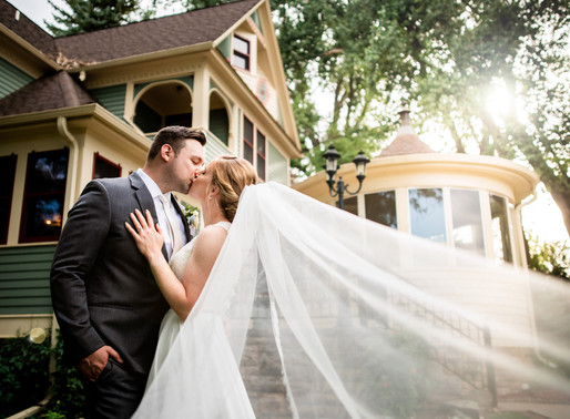 Emily and Ryan's Summer Wedding at Tapestry House Wedgewood near Fort Collins, Colorado