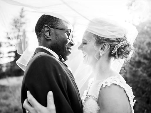 Amanda and Fumba's Fall Wedding at Woodlands Colorado - Mountain Wedding Photographer