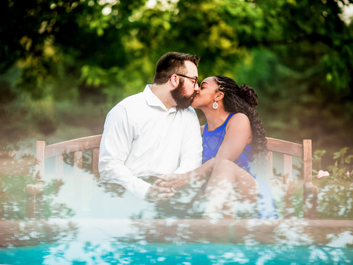 Tya and Zach's Vibrant Engagement at Hudson Gardens - Denver Weddings - Sarah Goff Photography