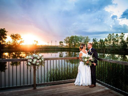 Ashley and Cameron's Summer Wedding at River Garden Winery - Colorado Wedding Photography
