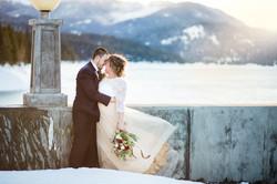 Winter Wedding Washington Elopement